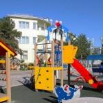 отдохнуть с ребенком санаторий БФО в центре Анапы у морядетская площадка санаторий БФО в центре Анапы у моря
