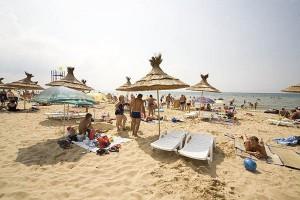 отдых на юге у моря семейный пансионат Фея1 в Джемете на берегу моря