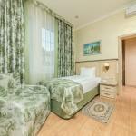 одноместное размещение отель на берегу моря 5 звезд Довиль отдых дорого в Анапе