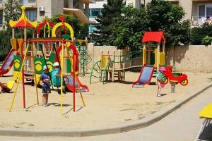 отдохнуть с детьми семейный пансионат Фея3 в Джемете на берегу моря