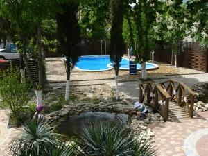 отдых на юге пансионат Радуга семейный отдых в Геленджике