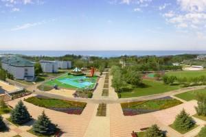 молодежный отдых санаторий Парус в Анапе у моря Пионерский проспект
