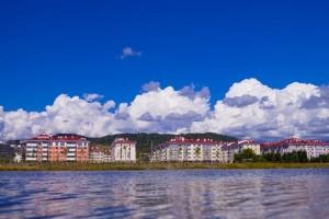 купить путевку город-отель Александровский в Имеретинской бухте Адлер Сочи