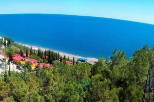отдохнуть на море отель у моря Эко Вилладж в Крыму Ялта