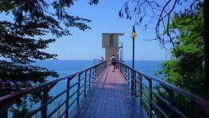 Санаторий Актер в центре Сочи Курортный проспект пляжный отдых