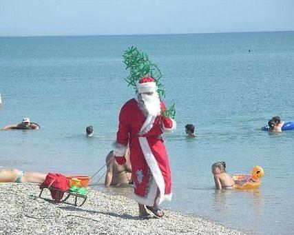 Новый год и Рождество в Анапе Витязево