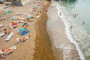 пляж санаторий СССР в центре Адлера Сочи недорого