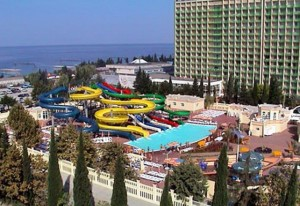 аквапарк Фрегат Адлеркурорт отдых в Сочи у моря