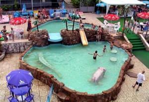 детский бассейн Фрегат Адлеркурорт отдых в Сочи у моря