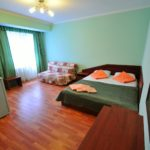 Семейный отдых Витязево 2м1к Стандарт + диван Исидор отель