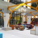 Бетон Брют отдых в Анапе в стиле лофт большой холл