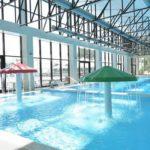 Бетон Брют отдых в Анапе в стиле лофт крытый бассейн с подогревом