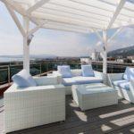 отдых все включено в Геленджике отель Биарриц 2м2к Сьют Терраса балкон