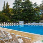 открытый бассейн Спа-отель Спутник в Сочи комфортный отдых