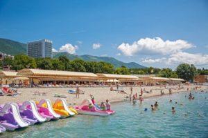 пансионат на море Приветливый берег Геленджик с собственным пляжем